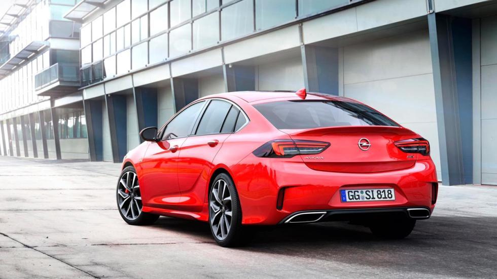 Opel Insignia GSI sedan deportivo lujo