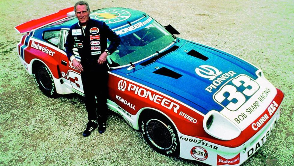 Paul Newman, un seductor a toda velocidad