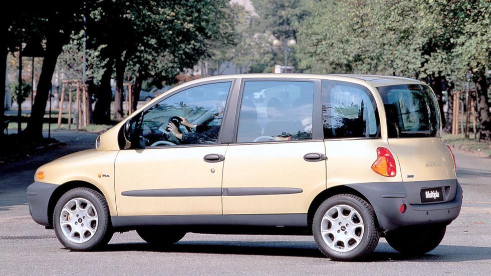 Los peores coches para viajar - Fiat Multipla