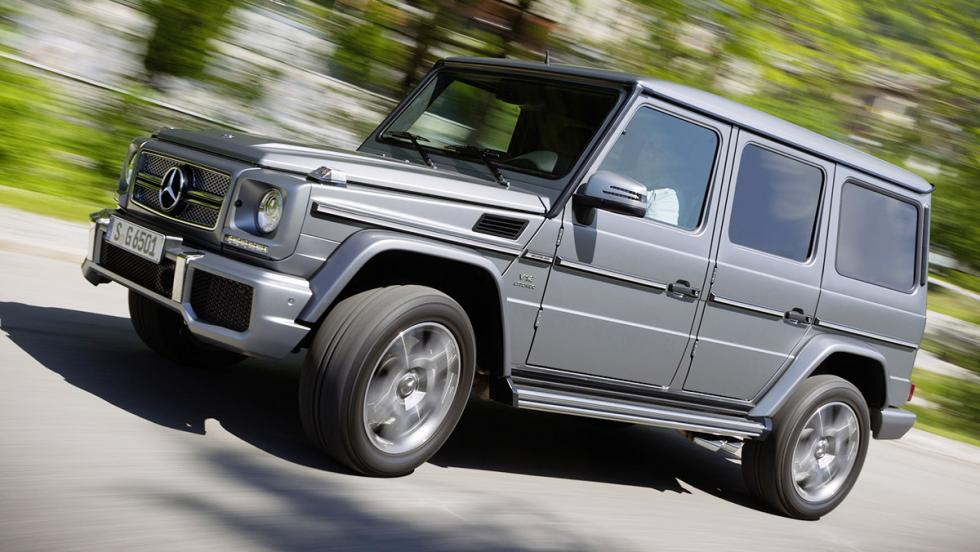 Los peores coches para viajar - Mercedes-AMG G 65
