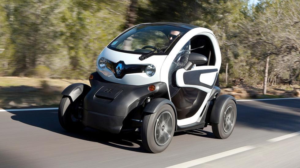 Los peores coches para viajar - Renault Twizy