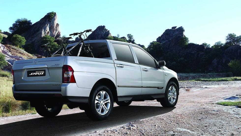 Los peores coches para viajar - SsangYong Actyon Sports