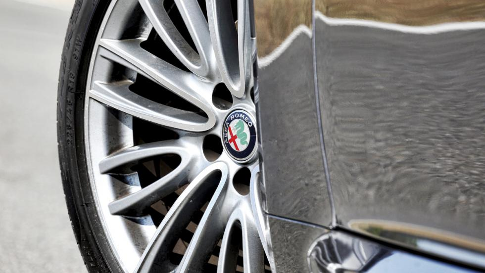 Prueba Alfa Romeo Giulia (llanta)