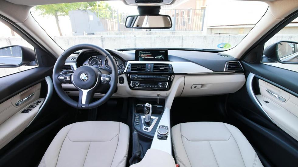 Prueba BMW 330e hibrido enchufable electrico berlina eficiente