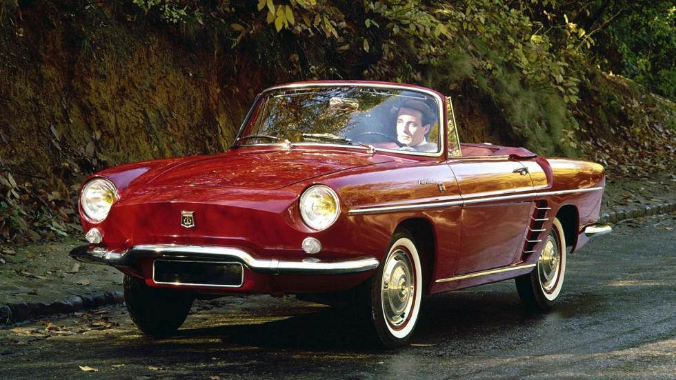 Renault Floride coupe descapotable desconocido