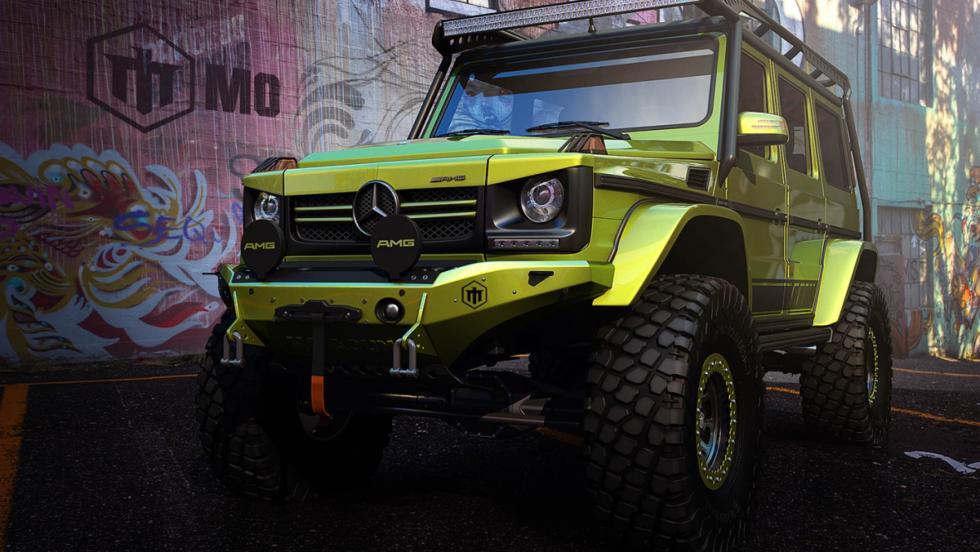 Render Mercedes Clase G MoAun