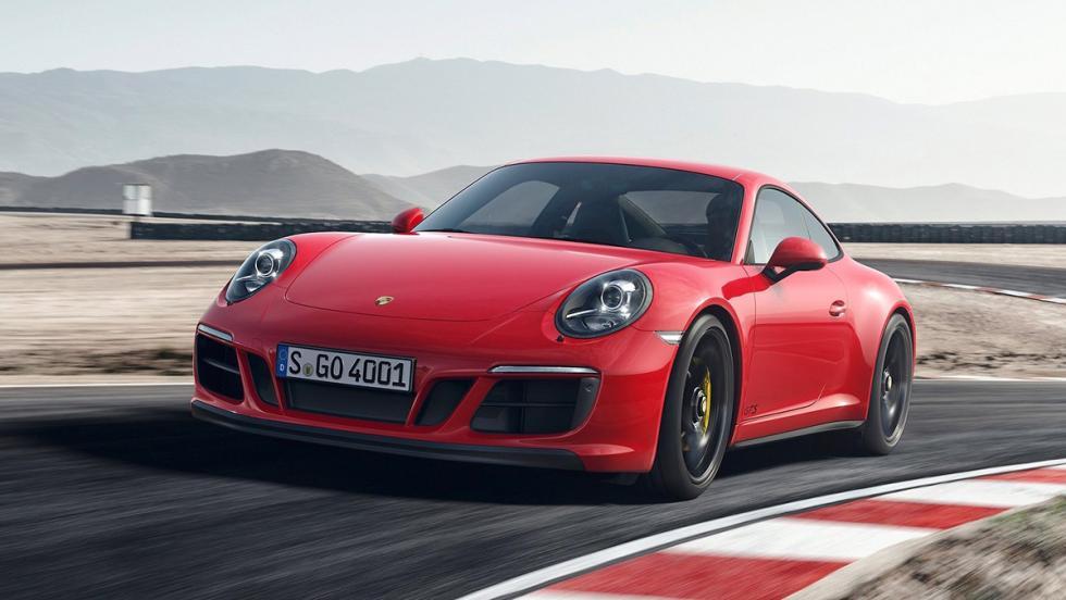 Los rivales del Mercedes-AMG GT - Porsche 911 GTS