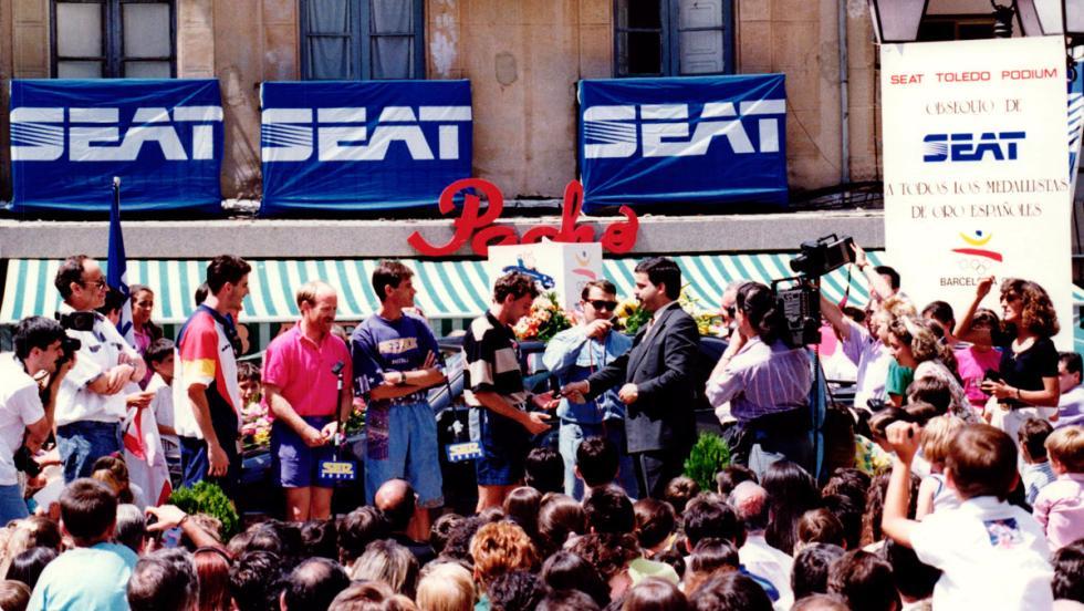 Seat en las Olimpiadas de Barcelona 92 (V)
