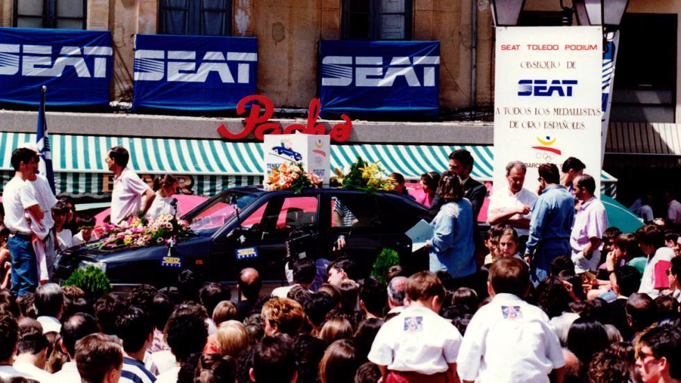 Seat en las Olimpiadas de Barcelona 92 (VII)