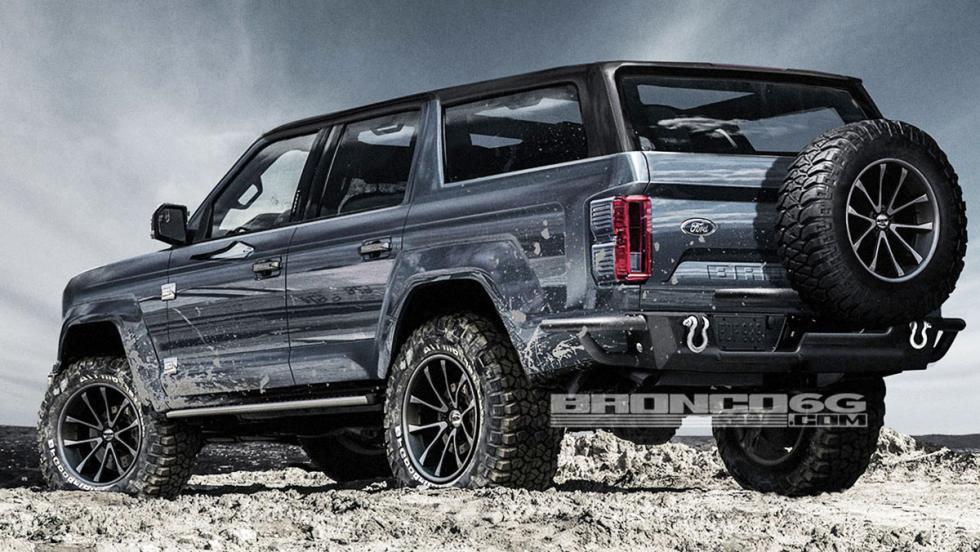 ¿Será así el Ford Bronco para 2020?