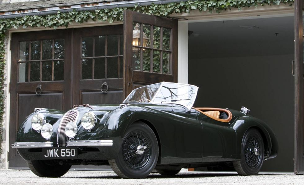 Su Jaguar XK120 Alloy Roadster del ´50