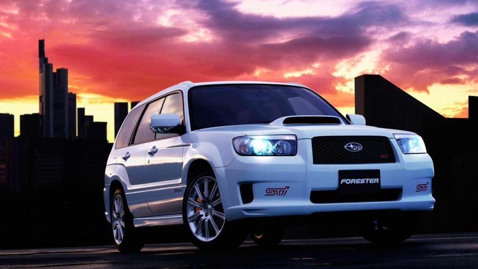 Subaru Forester STI SUV deportivo Japón
