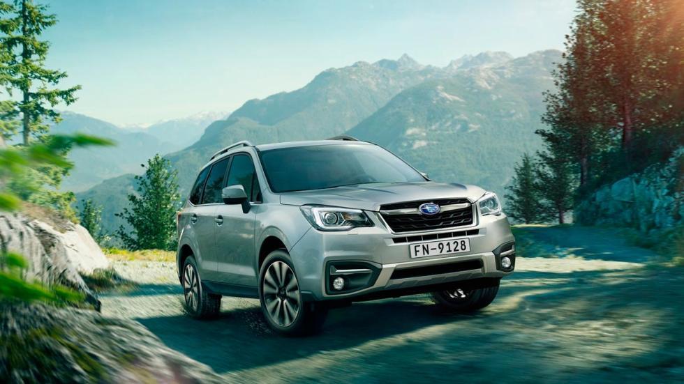 Subaru Forester off-road campo