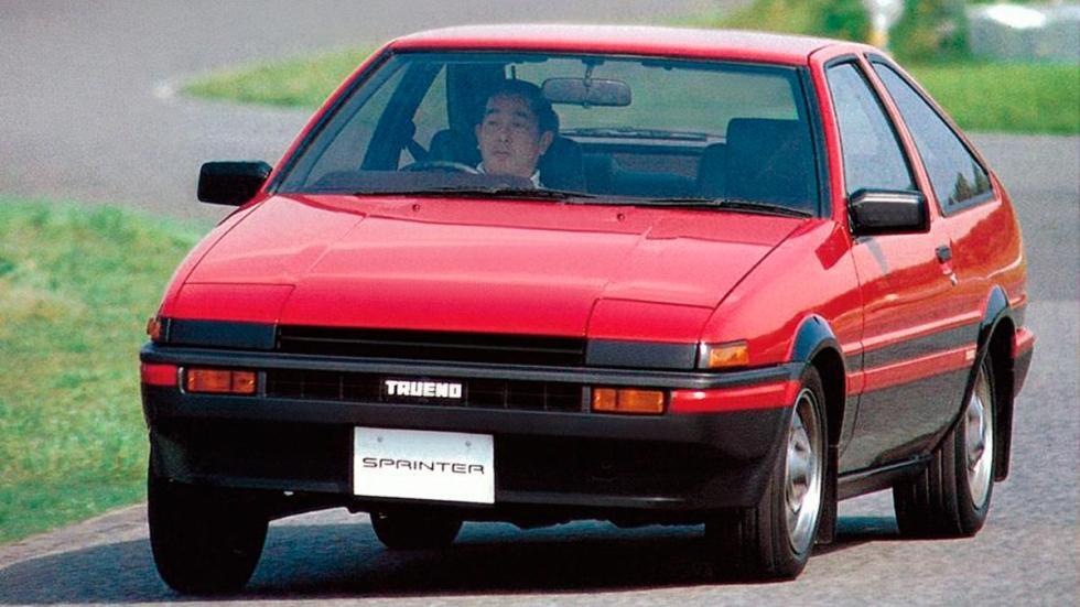 Toyota Sprinter Trueno AE86 deportivo compacto Japón