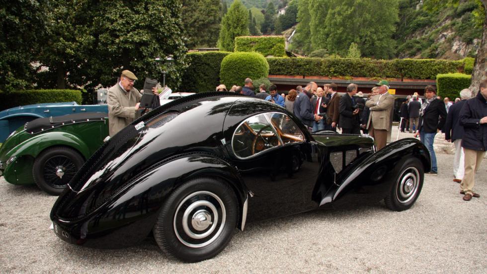 Zaga del Bugatti Type 57SC Atlantic de 1938