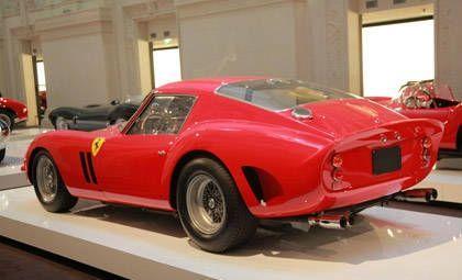 Zaga del Ferrari 250 gto 1962 de Ralph Lauren