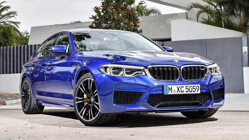 5 coches que deberíamos odiar los petrolhead - BMW M5 2017