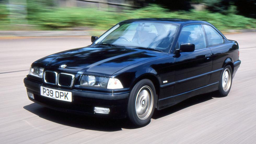 5 coches que son un imán para la Guardia Civil de Tráfico - BMW Serie 3 E36
