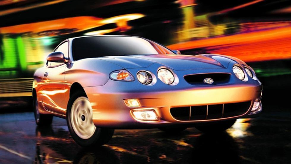 5 coches que son un imán para la Guardia Civil de Tráfico - Hyundai Coupé