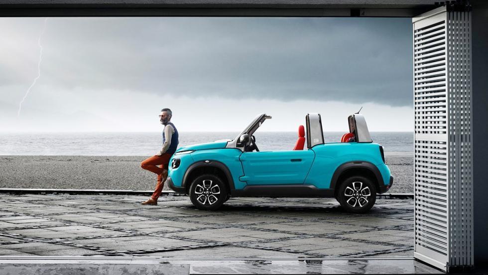 5 coches tan horteras para el verano como un bañador 'turbopacket' - Citroën E-Mehari