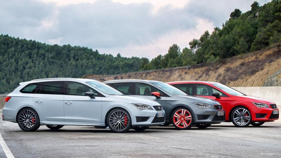 5 coches tan horteras para el verano como un bañador 'turbopacket' - Seat León ST Cupra