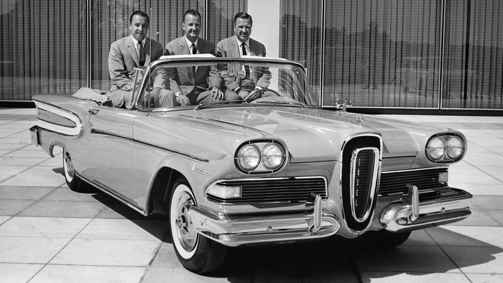 5 grandes fracasos del automóvil - Edsel
