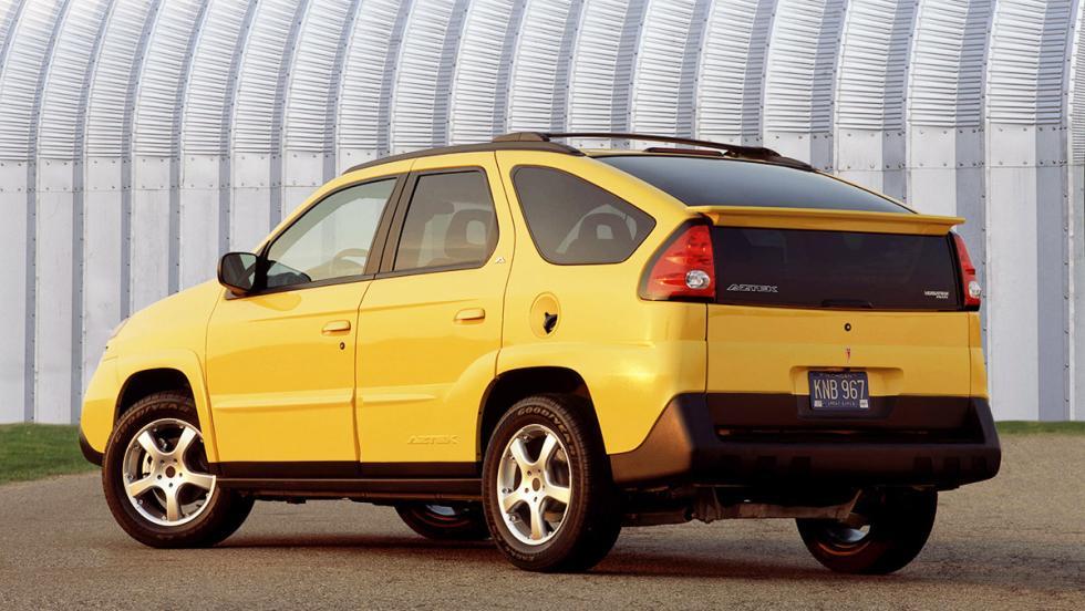 5 grandes fracasos del automóvil - Pontiac Aztek