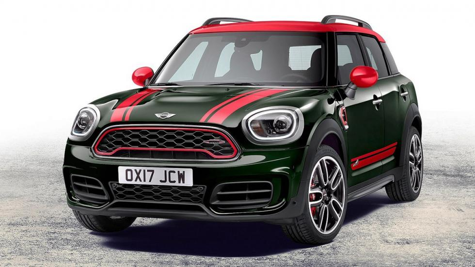 5 SUV por menos de 50.000 euros realmente divertidos - Mini Countryman John Cooper Works All4