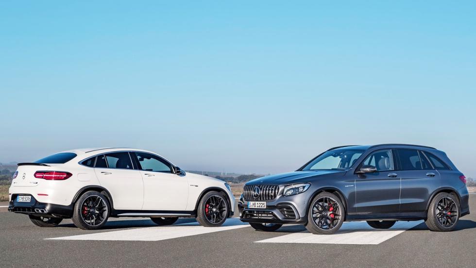 5 SUV que suenan como un deportivo - Mercedes-AMG GLC 63