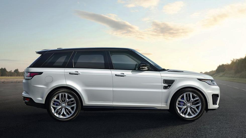 5 SUV que suenan como un deportivo - Range Rover Sport SVR