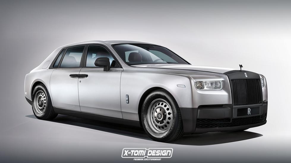 6 versiones del Rolls-Royce Phantom 2018 que a todos nos gustaría ver - Base Spec