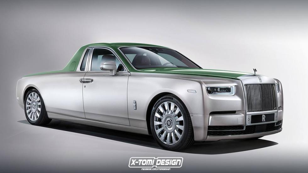 6 versiones del Rolls-Royce Phantom 2018 que a todos nos gustaría ver - Pick-up