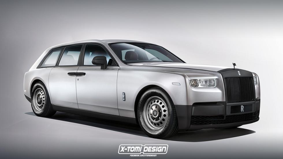 6 versiones del Rolls-Royce Phantom 2018 que a todos nos gustaría ver - Shooting Brake Base Spec