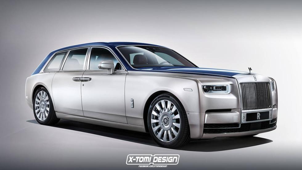6 versiones del Rolls-Royce Phantom 2018 que a todos nos gustaría ver - Shooting Brake
