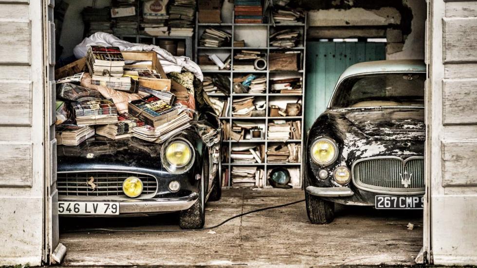 Ferrari 250 GT SWB California Spider 1961 y un Maserati A6G 2000 Gran Sport Berlinetta