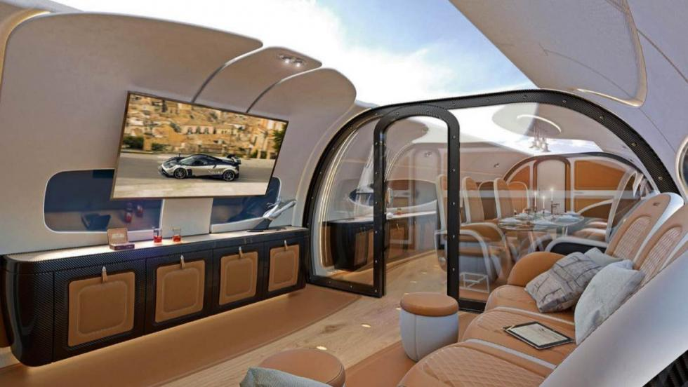 Airbus Corporate Jets / Pagani