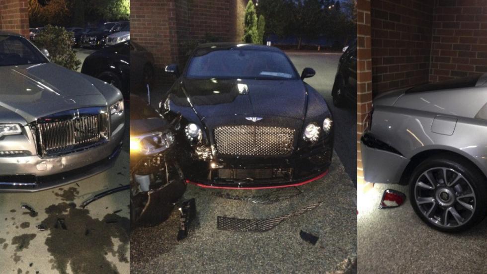 Arrestado por causar 425.000 euros de daños en un concesionario de Bentley