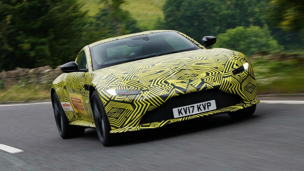 Aston Martin Vantage 2018 deportivo camuflado futuro