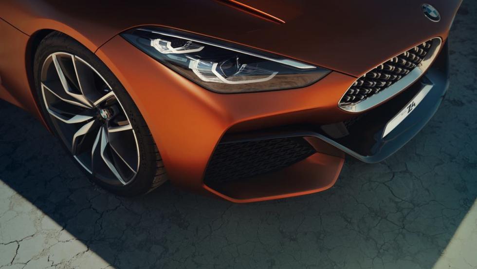 BMW Z4 Concept parrilla