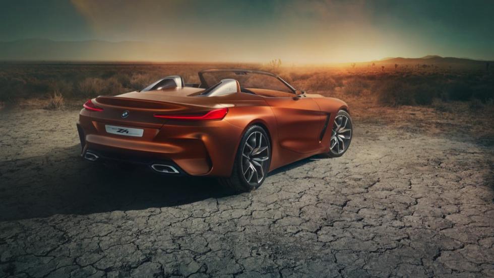 BMW Z4 Concept trasera