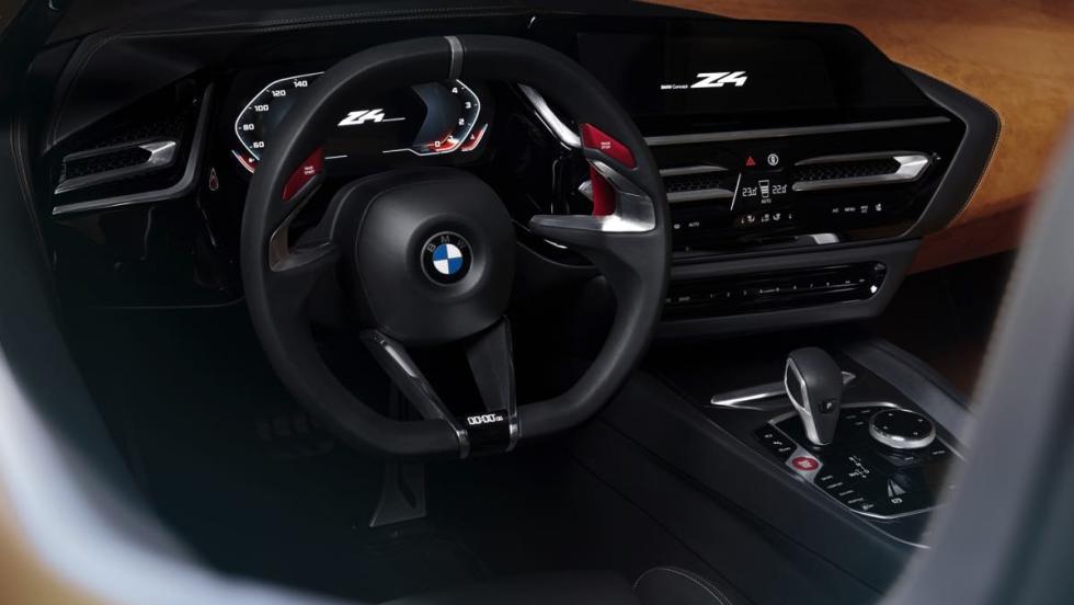 BMW Z4 Concept volante