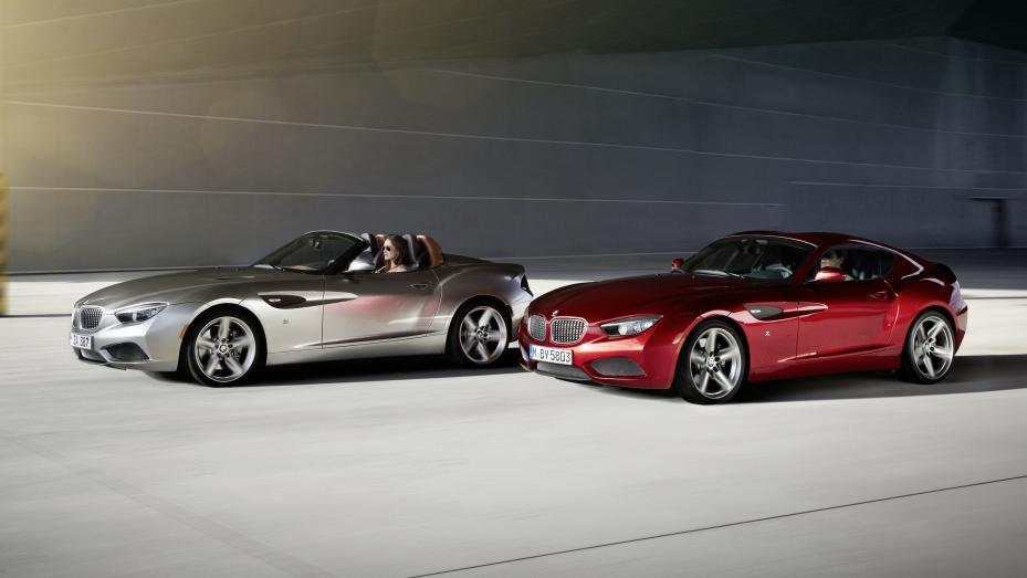 BMW Zagato Coupe y  Roadster