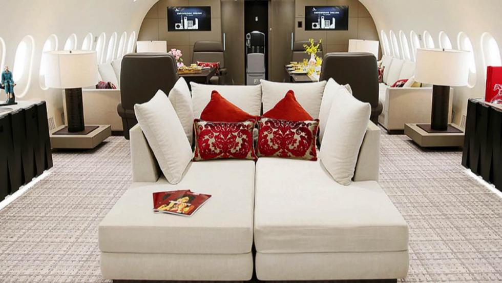 Boeing 787 Dreamliner Deer Jet
