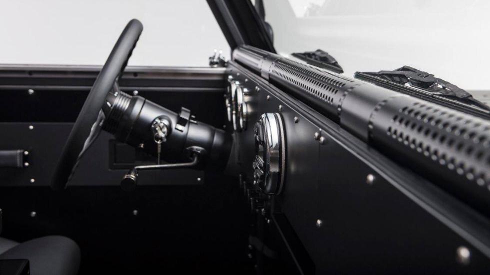 Bollinger B1 todoterreno off-road eléctrico motor