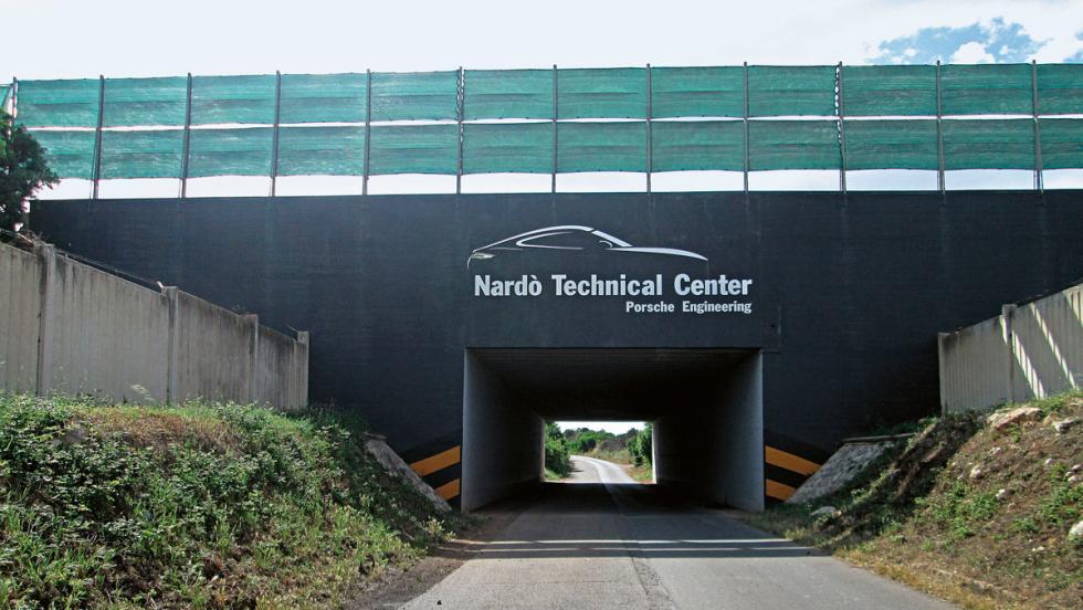 Centro Técnico de Porsche en Nardò (I)
