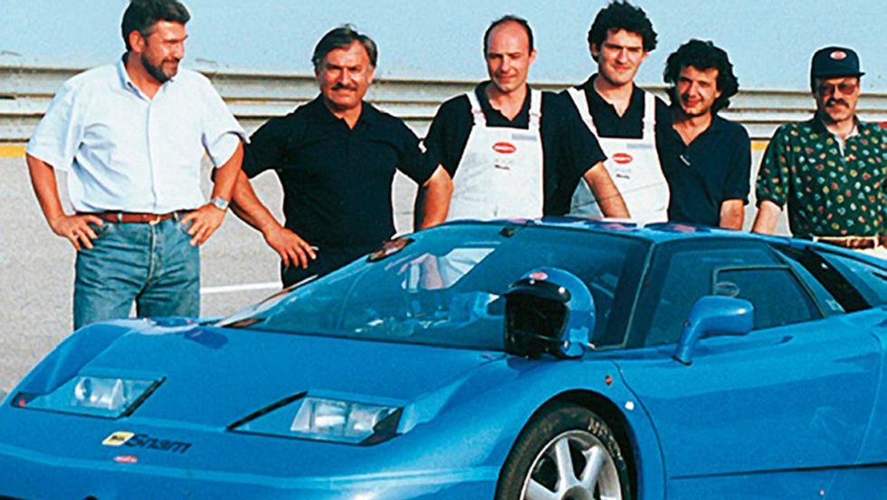 Centro Técnico de Porsche en Nardò (VI)