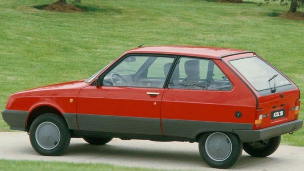 Citroën Axel utilitario lujo rumania