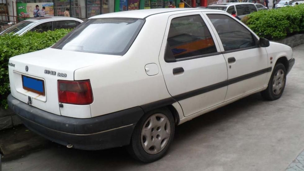 Citroën Fukang ZX sedan China