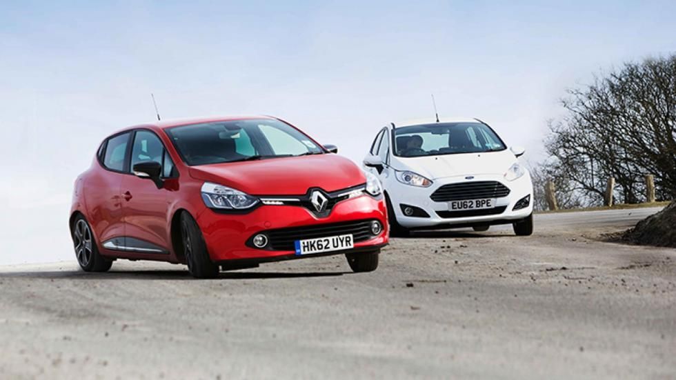 Renault Clio Ford Fiesta coches alquiler