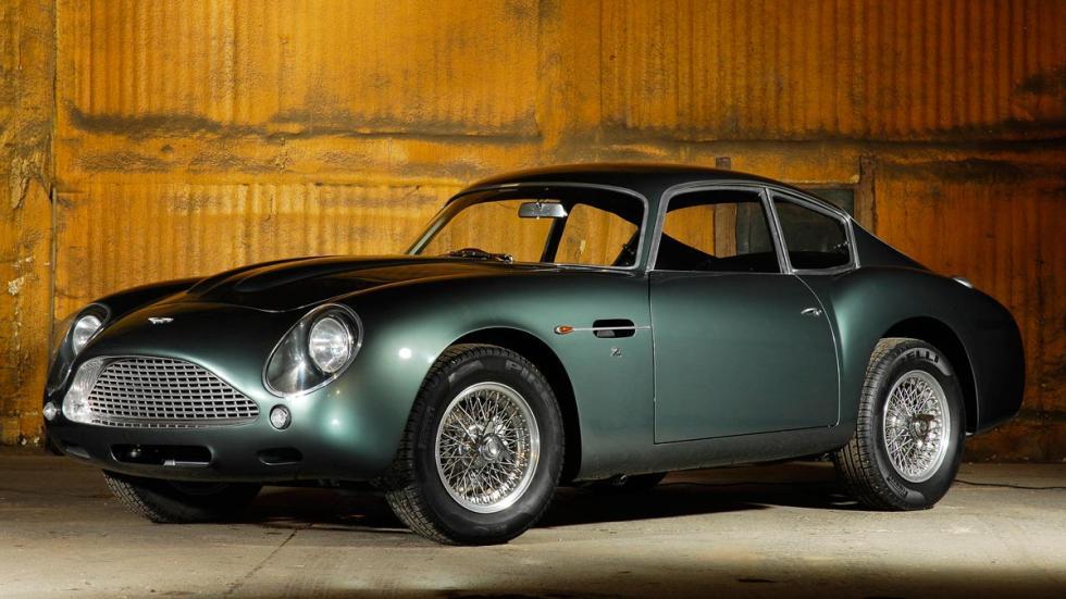 Aston Martin DB4 GT Zagato lujo deportivo clásico
